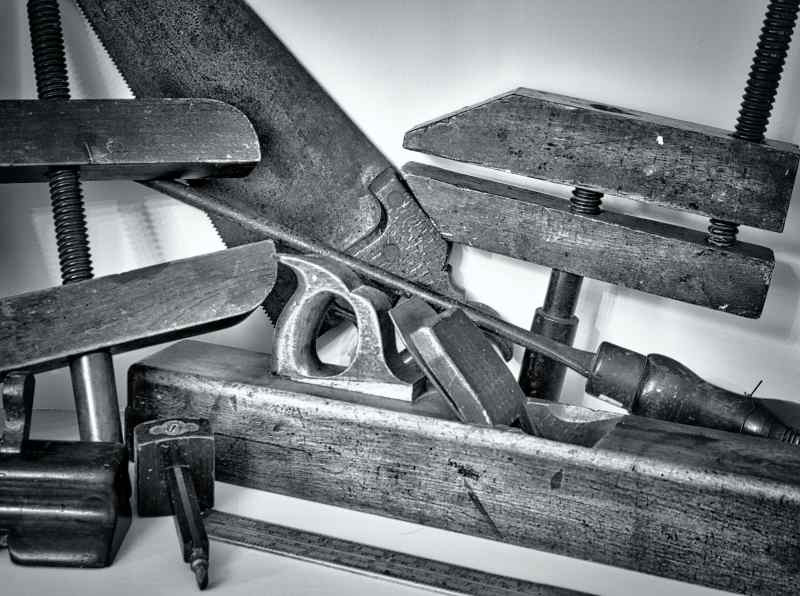 The tools of the trade maintaining the Hall