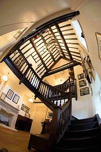 The Stair Hall at Witney Blanket Hall