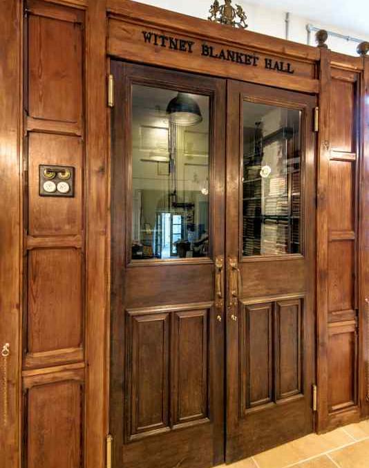 In through the big doors...
