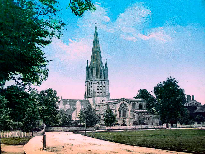 St Mary's Church, Witney by Henry Taunt