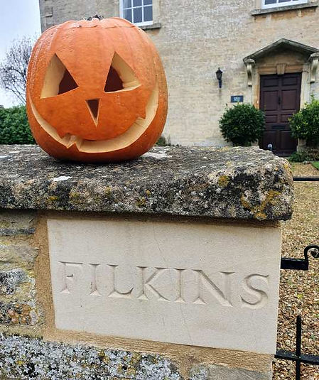 Halloween in Filkins in The Land of the Twelve Churches