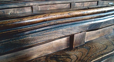 Elm Pews in Filkins in The Land of the Twelve Churches