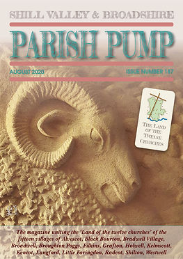 August 2020 Parish Pump in The Land of the Twelve Churches