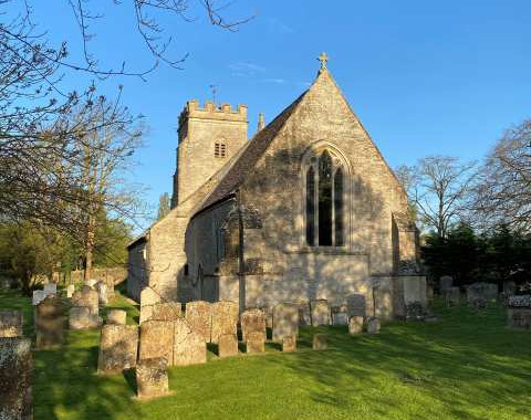 Shilton Church: Tom Barry