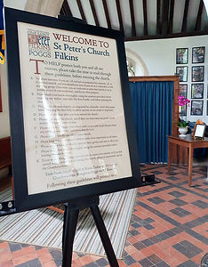 Re-opening 4 St Peters Church Filkins in the Land of the Twelve Churches