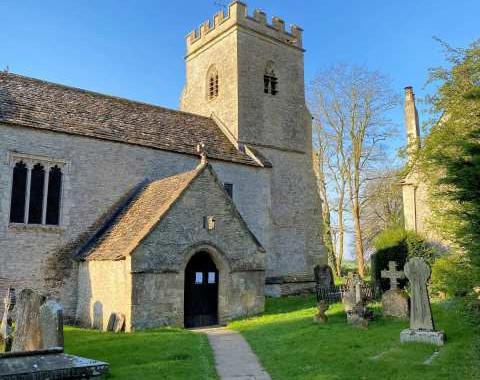 Shilton Church (closed): Tom Barry
