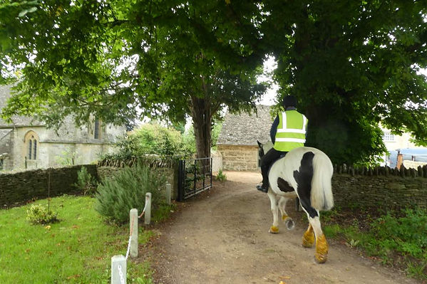 The Westwell Bridleway in The Land of The Twelve Churches