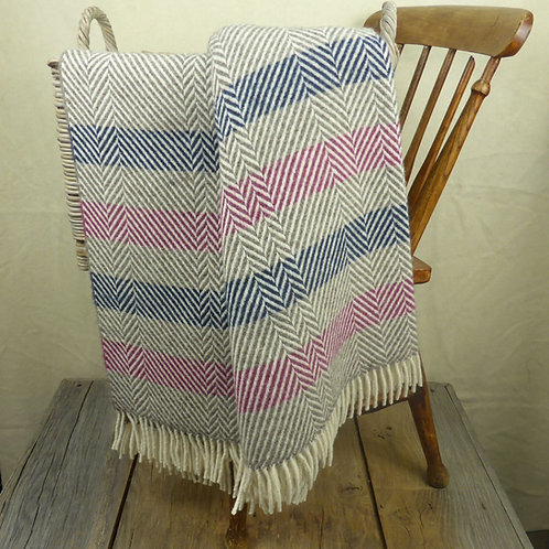 'Contemporary Point Blanket' Throw - Patch