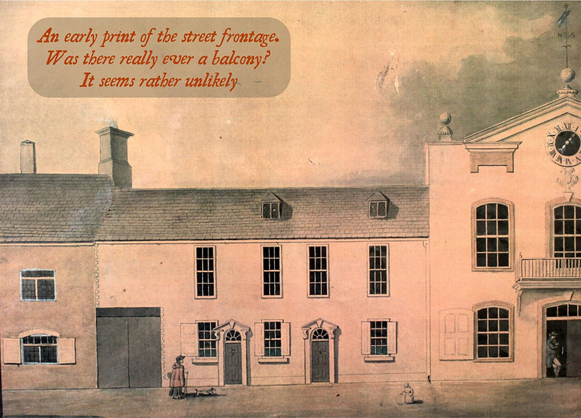 An early 19th century painting of Witney Blanket Hall
