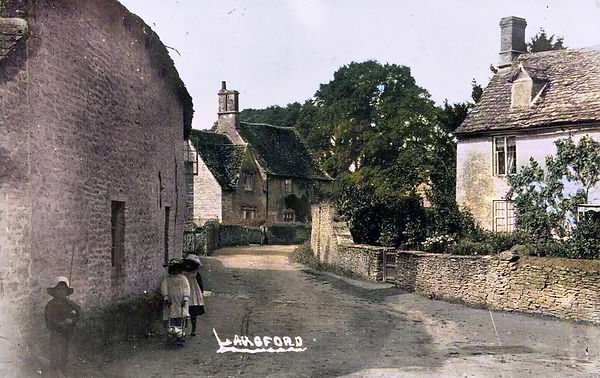 Langford in the early 20th century in The Land of The Twelve Churches