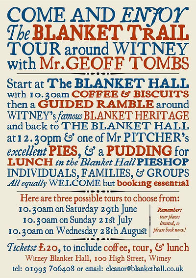 The Blanket Trail from Witney Blanket Hall