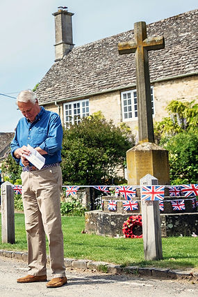 Richard Kemp in Langford in the Land of the Twelve Churches in Shill Valley and Broadshire