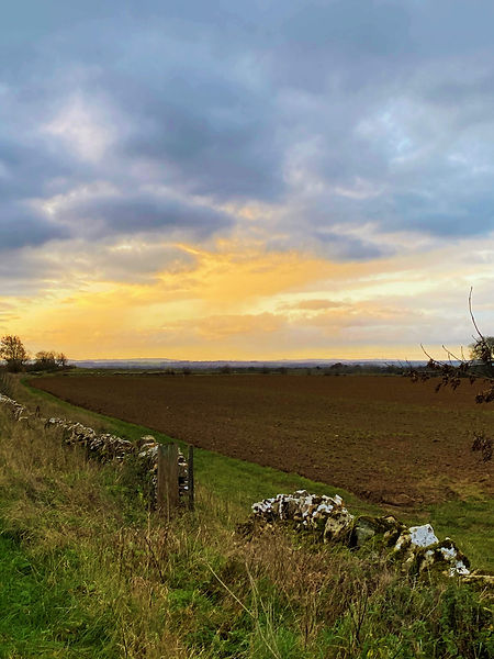 Looking South towrads Eastleach in The Land of the Twelve Churches