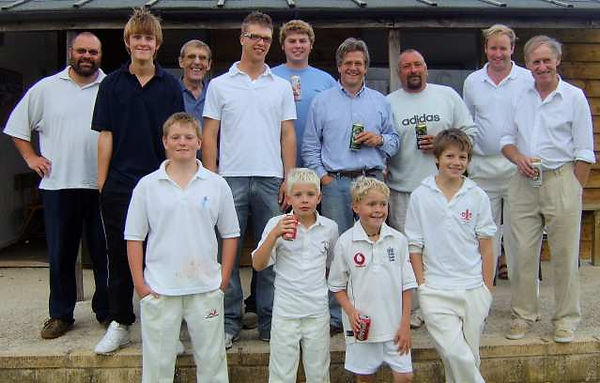 Langford Cricket Team 2006 in The Land of The Twelve Churches