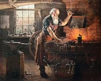 Village Blacksmith in The Land of The Twelve Churches