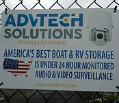 America's Best Boat & RV Storage is under 24 hour monitored audio and video surveillance.