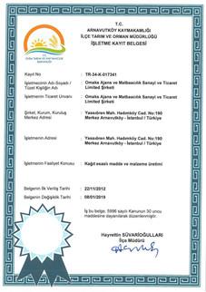 Food Packaging Certificate