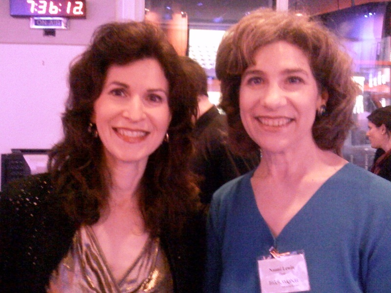 Sharon Isbin and me (separated at birth)