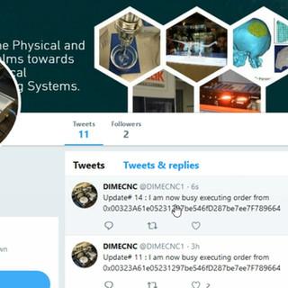 CNC Machine Twitter Feed