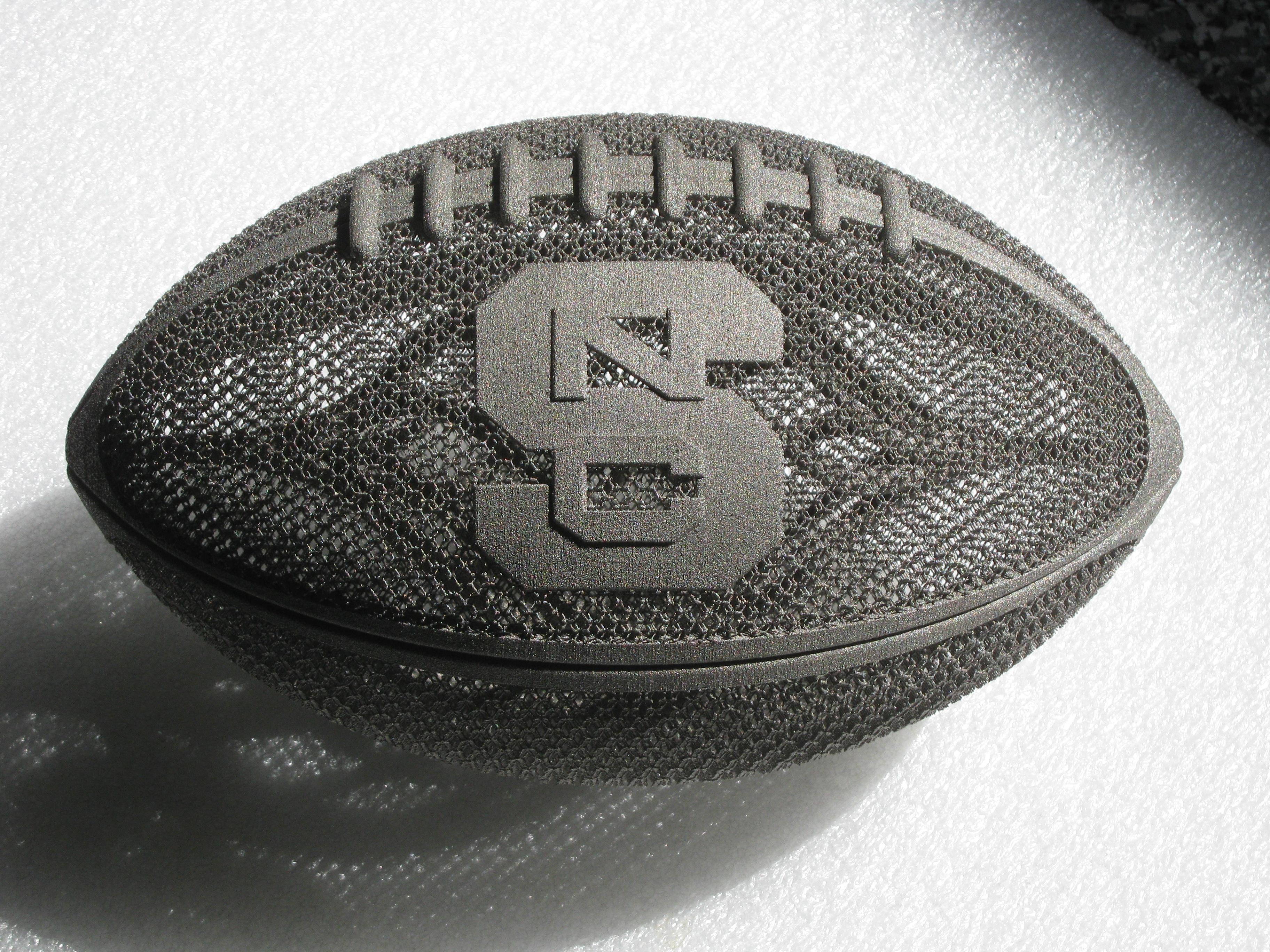 3D Printed NCSU Football
