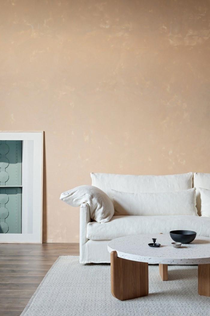 island sofa & native table