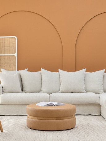 nysse chair, sloopy sofa, saga ottoman