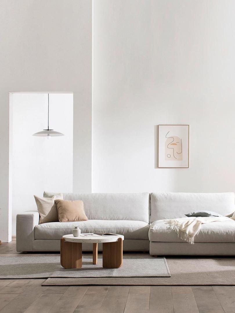 hansen sofa & native table