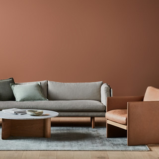 SONDER SOFA, MILES CHAIR & PIVOT TABLE