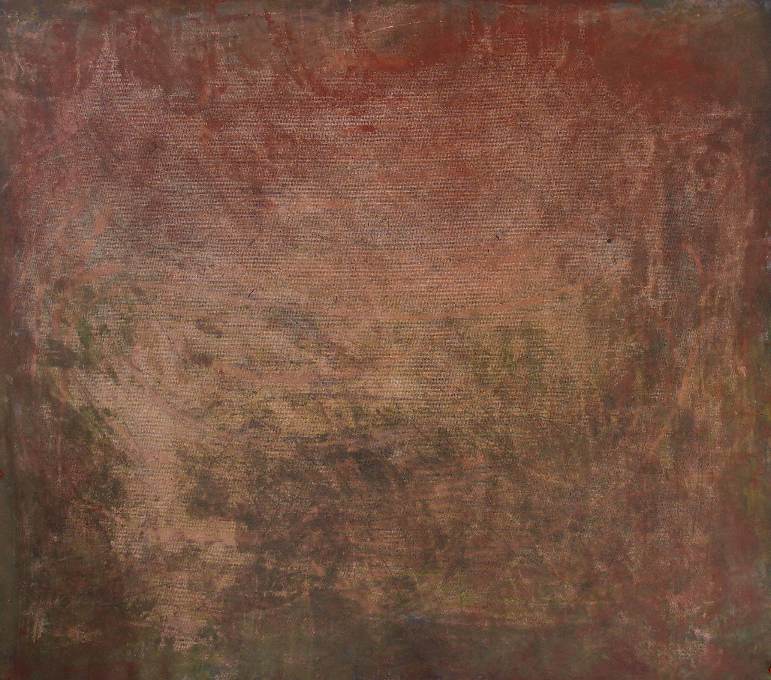 David Leach, Goan Landscape, 2017