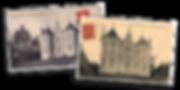 Cartes postales d'époque de la Villa Belle Couronne