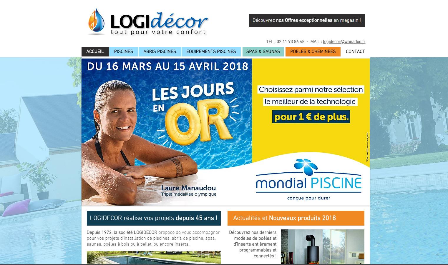 Site internet LOGIDECOR