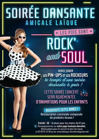Flyer A5 soirée Amicale Laïque Le Cellier