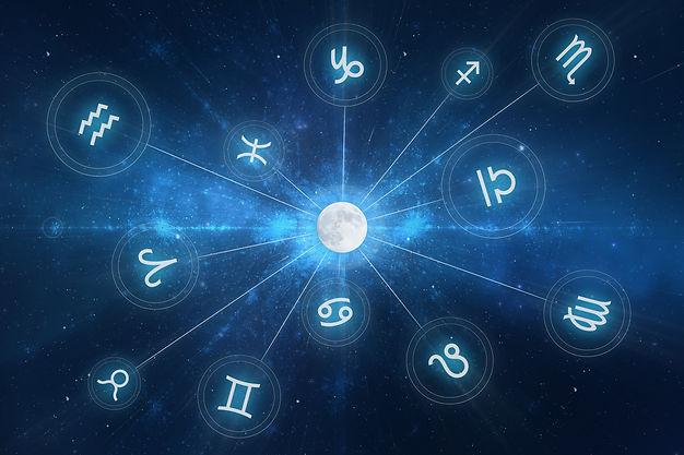 Thème astral, astrologie