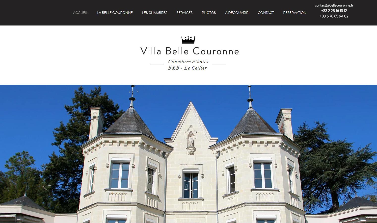 Site internet Belle Couronne