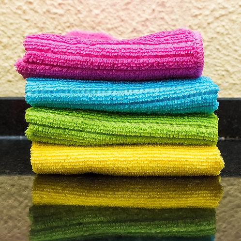 Toalha Microfibra Para Limpeza