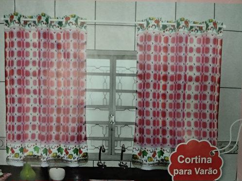 Cortina Tergal com Ilhós Para Cozinha 2,40m x 1,40m