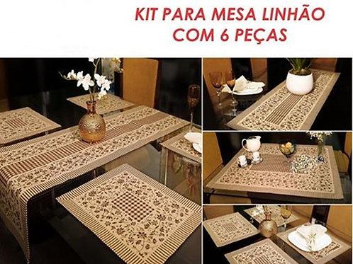 Kit 6 peças - Linhão
