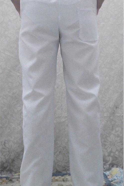 Calça Branca Oxford