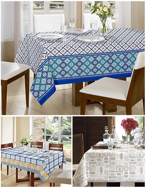 Como escolher sua toalha de mesa
