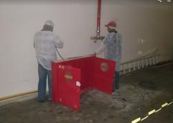 Instalação de rede de Hidrante