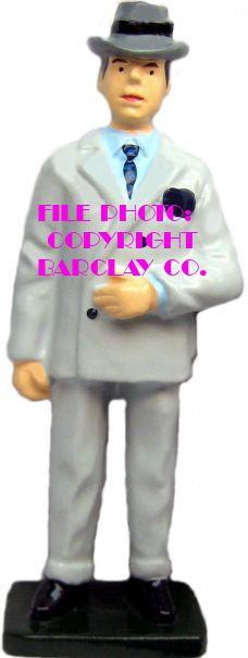 #083 - Man Standing In Fedora