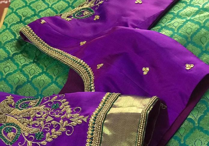 HW Purple and teal peacock motif.jpeg
