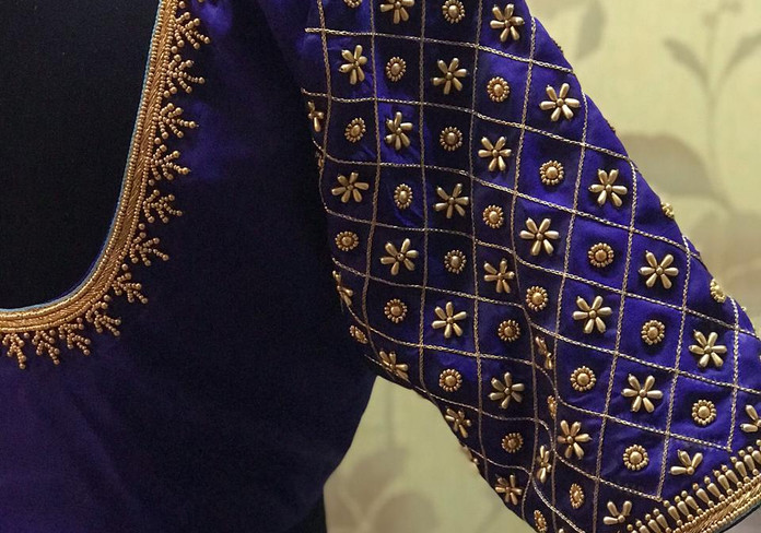 HW Purple and gold grid beads.jpeg