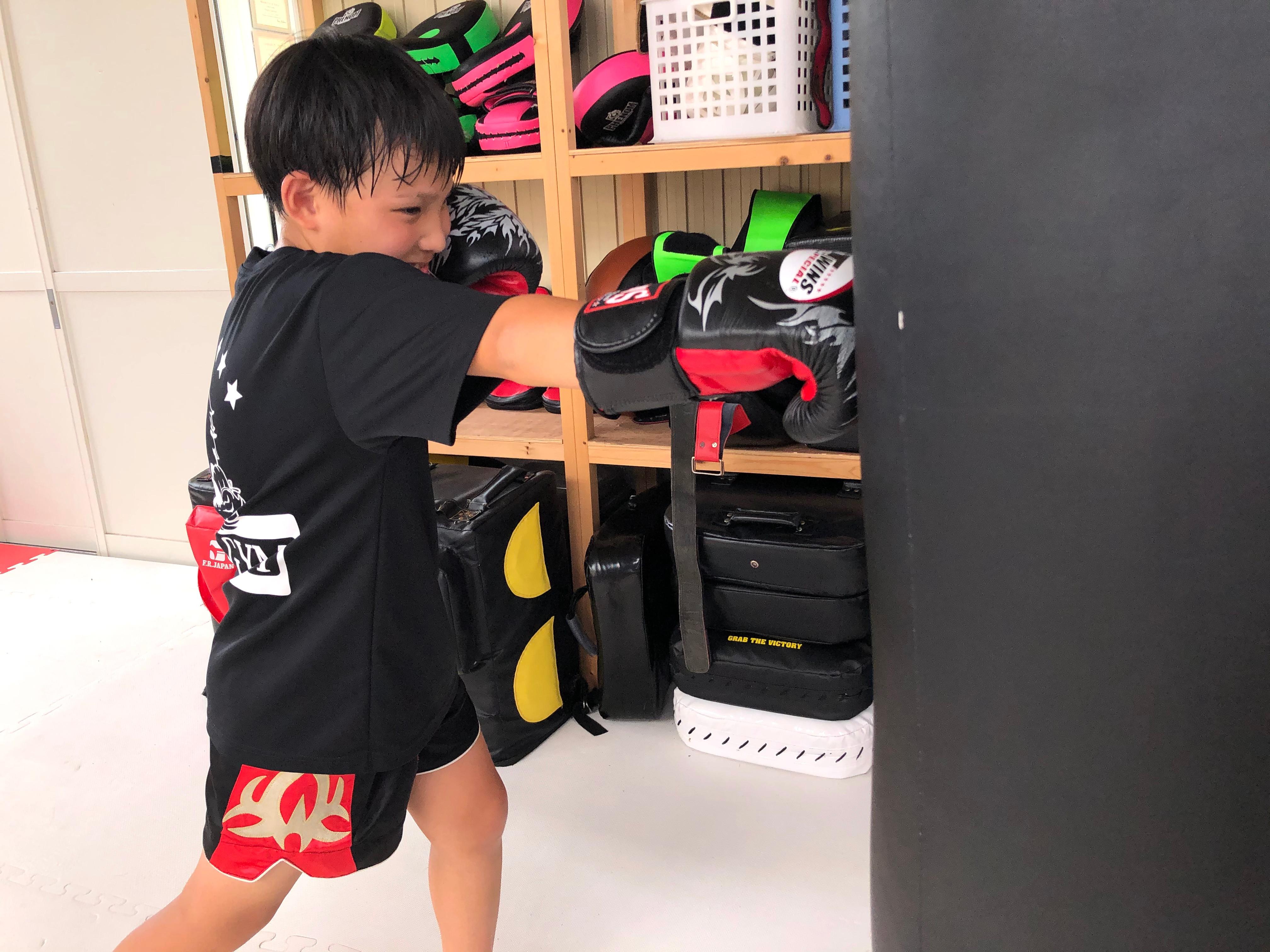 キッズキックボクシングクラス【無料体験】