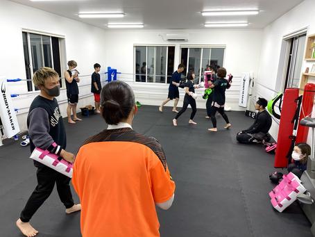 【昨日のトレーニング風景をご紹介!】