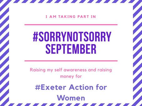 #SorryNotSorry September 2019