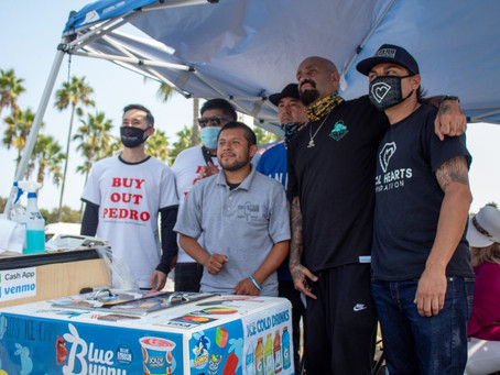 'Buy Out Pedro,' The Local Hearts Foundation unites LB Community to help local deaf street vendor