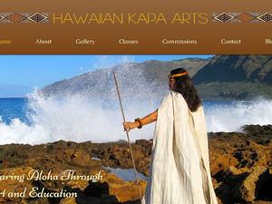 Hawaiian Kapa Arts launching soon