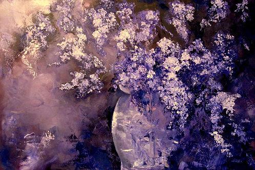 Lilacs Display 24H X 36W