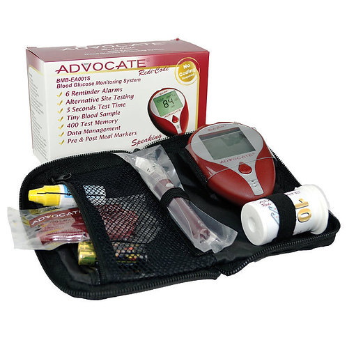 Blood Glucose Testing Kit - Redi-Code+ Speaking